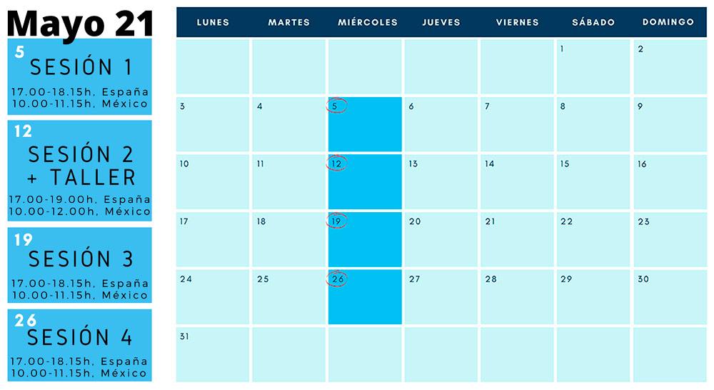 Calendario. Profundizando en la labor de gobierno. Curso para directores ejecutivos y patronos de fundaciones y miembros de juntas directivas de asociaciones